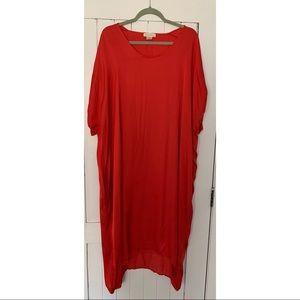 d77d5c1c854fe Anthropologie Dresses - Anthropologie Stark Scarlette Caftan Dress